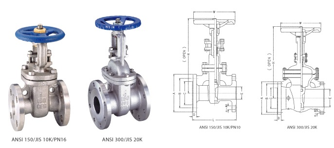Flange End Gate Valve Annaik Limited